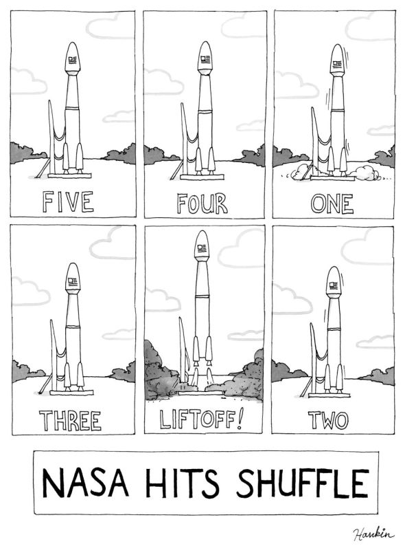 nasa hits shuffle