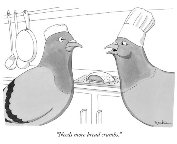 needs more bread crumbs